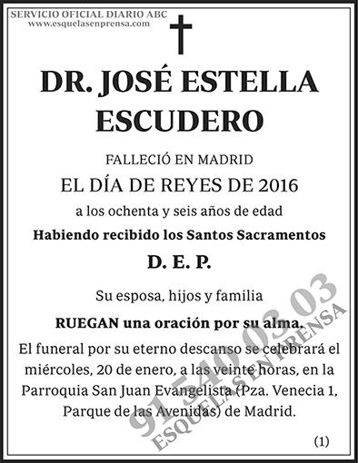 José Estrella Escudero